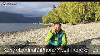 Který objednat? iPhone X vs iPhone 8Plus