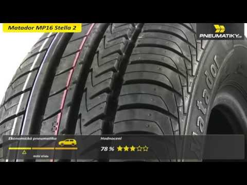 Youtube Matador MP16 Stella 2 165/60 R14 75 T Letní