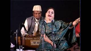 Farida Khanum in concert : Malika-e-Ghazal in India