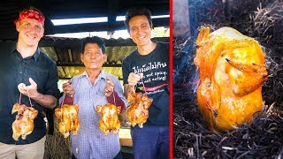 Video Unique Grilled Chicken - DON'T TRY THIS AT HOME!! with Sonny Side! | ไก่อบฟาง MP3, 3GP, MP4, WEBM, AVI, FLV Juli 2019