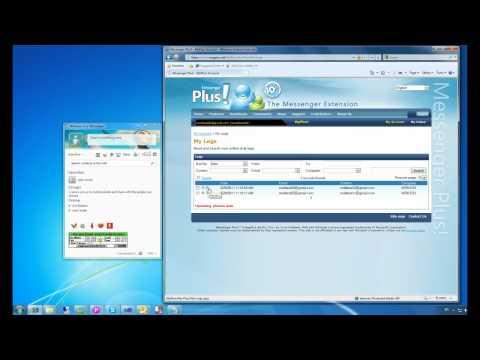 Video 2 de Messenger Plus: Historiales en línea