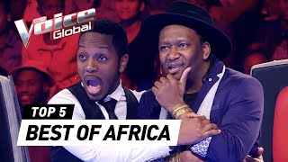 Video The Voice Global | BEST Blind Auditions of AFRICA MP3, 3GP, MP4, WEBM, AVI, FLV Agustus 2018