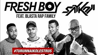 Oles Turun Naik - Saykoji Remix (Unofficial Lyric Video)