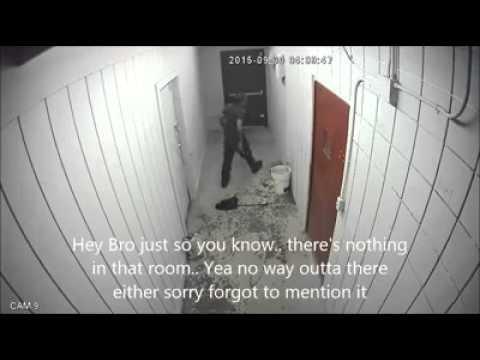 Local store keeps getting merch stolen. Burglar finally gets caught, but has hilarious panic escape attempt