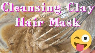 "In this video I show you my super simple recipe for a cleansing bentonite clay hair mask to remove buildup, and detox my scalp. It's extremely clarifying, and leaves my hair feeling super clean and soft, without stripping all of the healthy oils from my scalp! Try it out if you're using the ""no poo"" method, and need a good clarifying mask.Here is where I get my clay: http://goo.gl/eWrhgGMusic by Topher Mohr and Alex Elena ""Where I Am From"", YouTube Audio Library Creative Commons Attribution License.♥♥♥♥♥♥♥♥♥♥♥♥♥♥♥♥♥♥♥♥♥♥♥♥♥♥♥♥♥♥♥♥♥♥♥♥♥♥♥♥♥♥♥♥Follow Katrinaosity...On Etsy ♥ http://www.etsy.com/shop/katrinaosityOn Facebook ♥ https://www.facebook.com/pages/Katrinaosity/166748913427585On Tumblr ♥ http://katrinaosity.tumblr.com/On Twitter ♥ https://twitter.com/KatrinaosityOn Pinterest ♥ http://pinterest.com/katrinaosity/On Polyvore ♥ http://www.polyvore.com/katrinaosity/♥♥♥♥♥♥♥♥♥♥♥♥♥♥♥♥♥♥♥♥♥♥♥♥♥♥♥♥♥♥♥♥♥♥♥♥♥♥♥♥♥♥♥♥♥Mail:Katrina SherwoodPO Box 1126 Culver City, CA90232Hi, I'm Kat, and I make lots of DIY videos, about everything from DIY jewelry, home decor, gifts, and crafts, to Gluten Free recipes, No-poo hair care, DIY hair extensions, how to make sugaring wax and arabic wax for natural hair removal, and how to make a bracelet out of a toothbrush. Here you can watch videos about friendship bracelets, whitening your teeth with activated charcoal, or even skip on over to my second channel for Story Time videos and vlogs!Shiny, Pretty Things!"