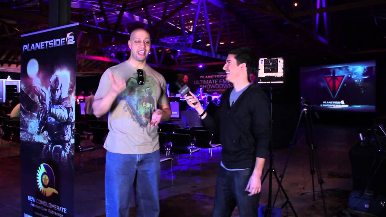 PlanetSide 2 Ultimate Empire Showdown | Jace Hall Pre-Game Interview