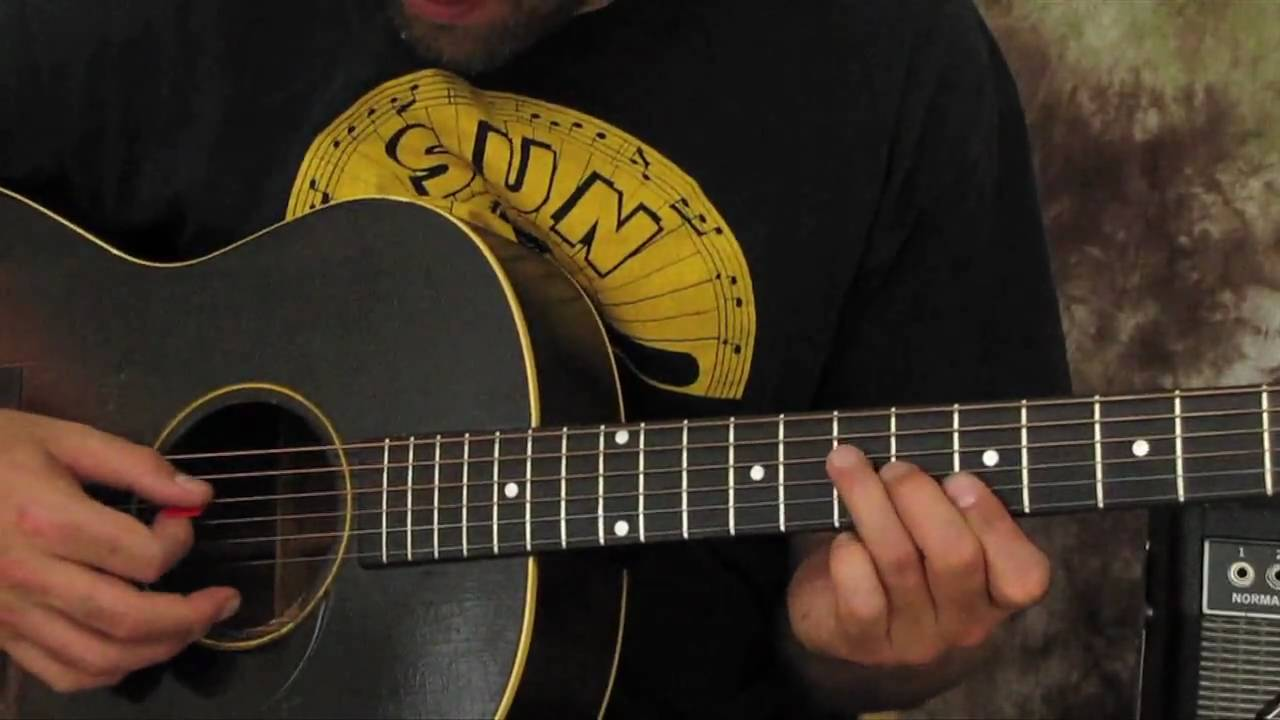 Learn How to Play Acoustic Blues Guitar Solos – Rock and Blues Guitar Lick