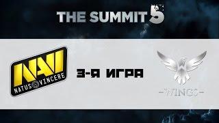 Na'Vi vs Wings, game 3