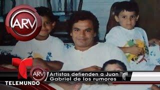 Amigas de Juan Gabriel defienden a su hijo Iván