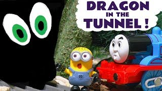 Video Thomas The Tank Engine and Funny Despicable Me Minions Dragon In Tunnel Toy Story for Kids  TT4U MP3, 3GP, MP4, WEBM, AVI, FLV Juli 2017
