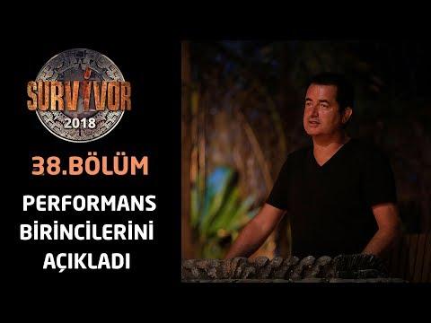 Акан Илıкалı хафтанıн перформанс биринкилерини аçıкладı | 38.Бöлüм | Сарвивор 2018