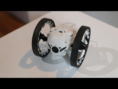 Parrot Jumping Sumo Minidrone Preview