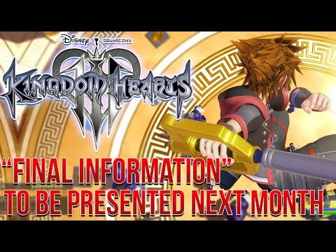 Kingdom Hearts 3 News -