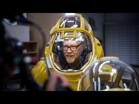 Adam Savage Explores the ScienceFiction Spacesuits of