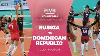 It was an intense game between Russia and the Dominican Republic with a great show of skill from both sides. However, Russia's ...