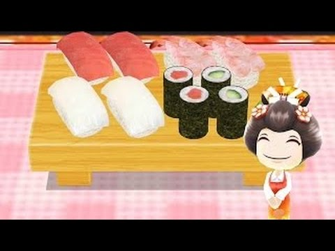 How To Make Sushi Learn To Cook With Cooking MaMa Cartoon For Kids Children Toddlers Baby