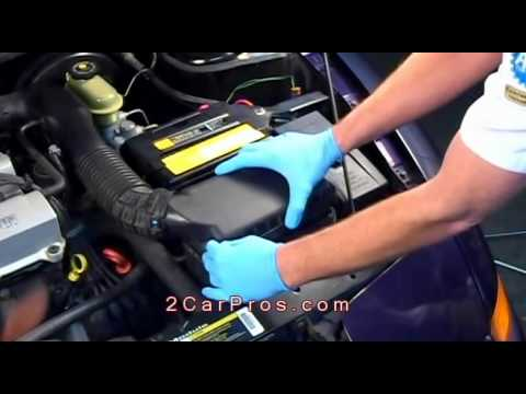 Engine Air Filter Replacement 1995-2003 Saturn SL1