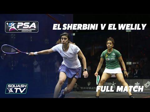PSA Rewind - El Welily v El Sherbini - Full Squash Match - El Gouna 2018 Final