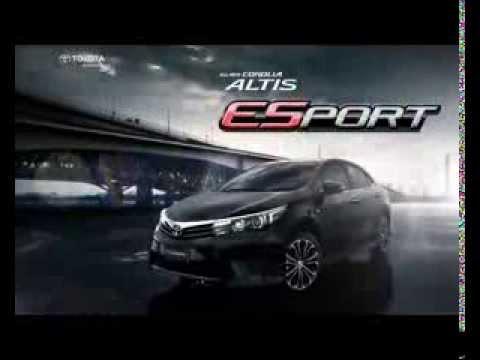 คลิปโฆษณา All New Corolla Altis ESport 2014 พร้อมพรีเซ็นเตอร์คนใหม่ ไมค์ พิรัชต์