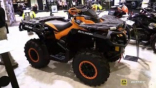 10. 2015 Can-am Outlander Max XT-P 800R DPS - Walkaround - 2014 Toronto ATV Show