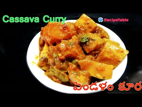 Pendalam Masala Gravy Curry Cassava Curry