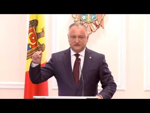 Igor Dodon: Blocarea sistemului electoral uninominal este un succes