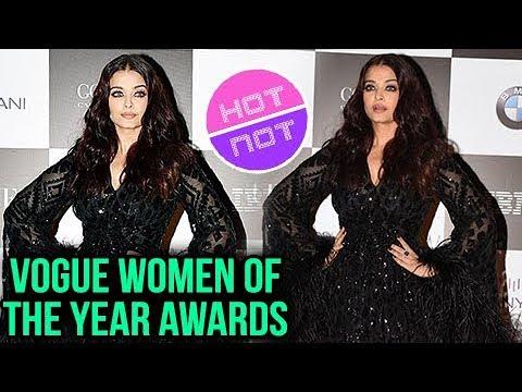 Aishwarya Rai At Vogue Women Of The Year Awards In