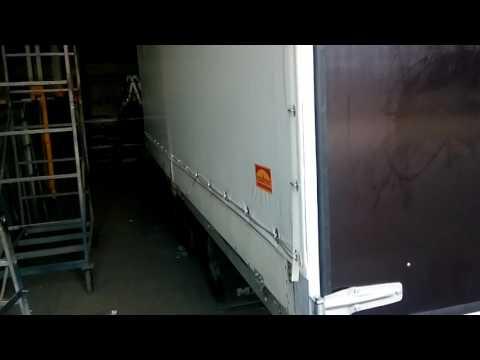 Тент, сдвижная крыша, ворота на грузовую машину