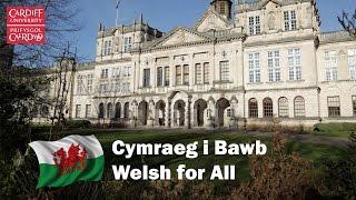 Mae Cymraeg i Bawb yn fenter sy'n cynnig cyfle ichi wella'ch sgiliau iaith ochr yn ochr â'ch astudiaethau ym Mhrifysgol Caerdydd. Welsh for All is a programme ...
