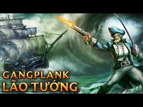 Gangplank Lão Tướng - Minuteman Gangplank
