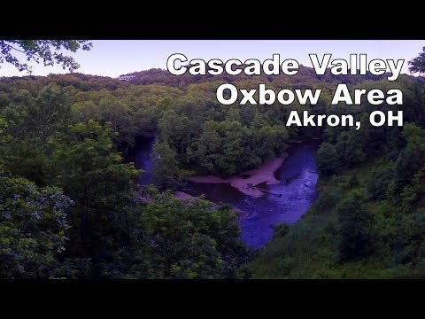Hiking the Oxbow Area in the Cascade Valley   Summit Metroparks  Akron, OH