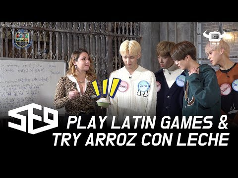 [HOLA SCHOOL WITH SF9] PLAY LATIN GAMES AND TRY ARROZ CON LECHE FOR THE FIRST TIME (EP3)