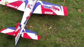 Yak 54 3D Electric Radio Control Foam 3D Plane E-flite Carbon-Z