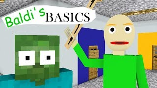 Video Monster School : BALDI'S BASICS CHALLENGE - Minecraft Animation MP3, 3GP, MP4, WEBM, AVI, FLV Juli 2018