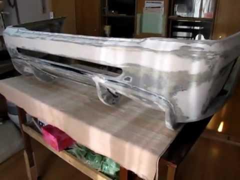 Тюнинг бампера своими руками ниссан санни