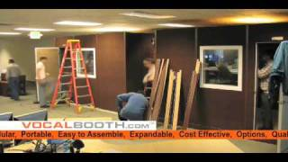 Vocal Booth / Recording Booth Assembly - VocalBooth.com