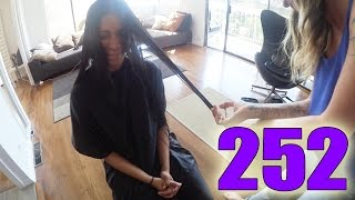 The Time I Cut My Hair (Day 252)