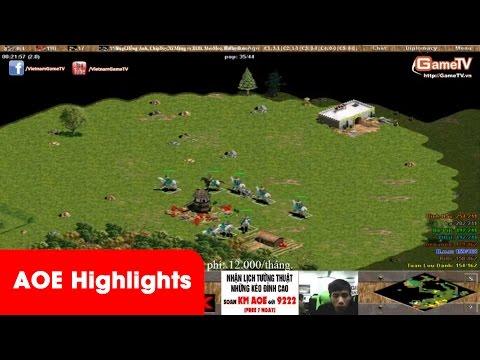 Aoe Highlights – Đầu cánh dâng L, chiến thuật cực dị của Hồng Anh