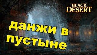 Black Desert (RU) - Данжи в BDO. Храм Анакерона и Руины Гистрии