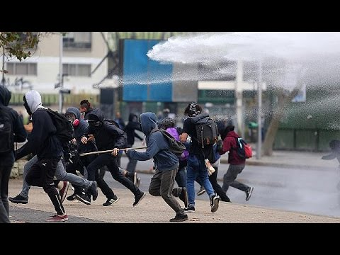 Χιλή: Επεισοδιακή διαδήλωση φοιτητών στο Σαντιάγκο