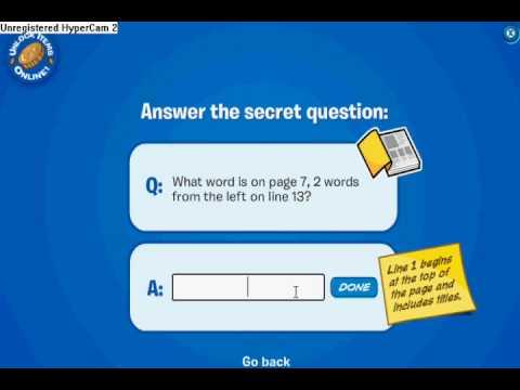 Codigos para el libro Stowaway de Club Penguin  /  Codes to unlock the book in Club Penguin