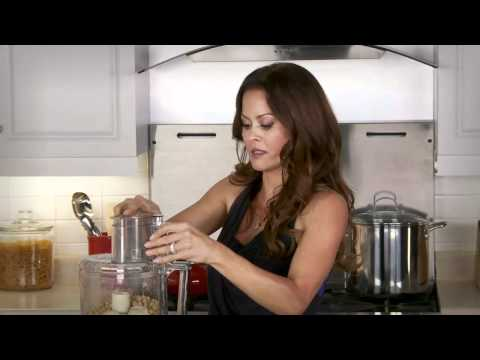 hummus - Brooke Burke shares her family's favorite hummus recipe! Click below to subscribe to our channel for more great videos! Make a healthy and tasty snack for yo...