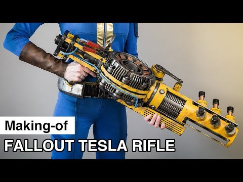 Tesla Rifle Making-of | Fallout 4