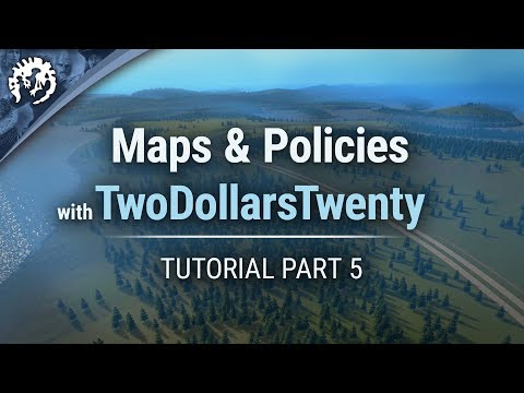 Maps & Policies with TwoDollarsTwenty | Cities: Skylines Industries Tutorial Part 5