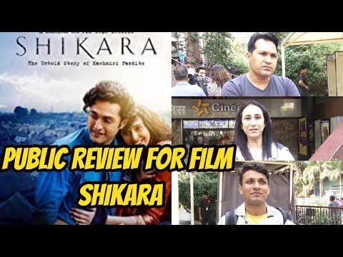 Public Review For Film Shikara