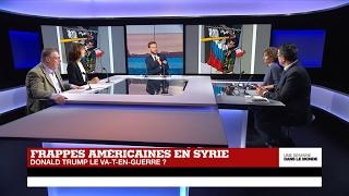 Video Frappes américaines en Syrie : Donald Trump, un va-t-en-guerre ? (Partie 2) MP3, 3GP, MP4, WEBM, AVI, FLV Mei 2017