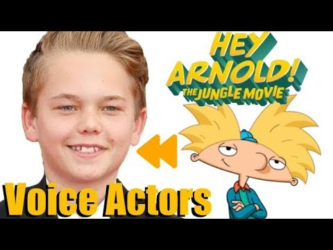 """Hey Arnold!: The Jungle Movie"" (2017) Voice Actors and Characters"