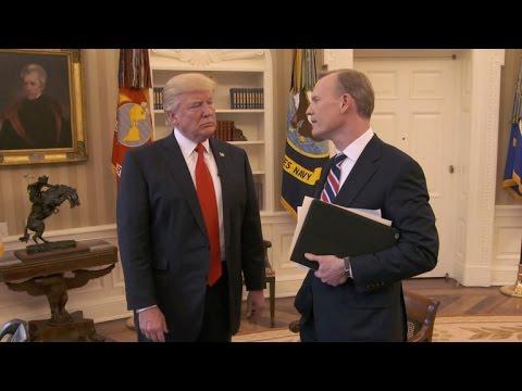 President Trump talks