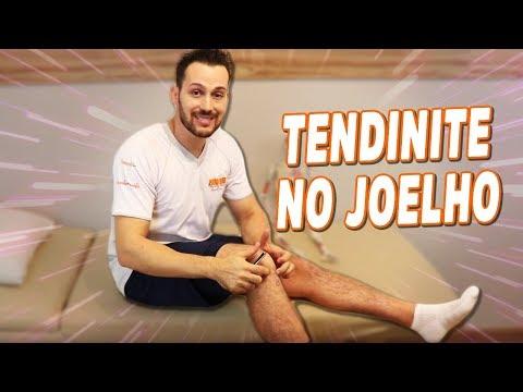 Como resolver a tendinite no joelho - tendão patelar