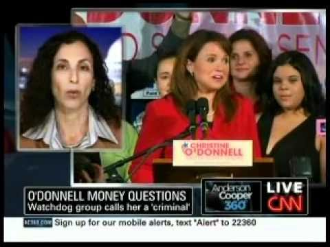 Melanie Sloan Discusses the O'Donnell FEC Complaint with Anderson Cooper